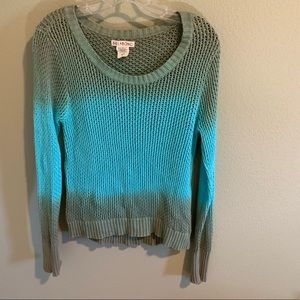 Billabong cable knit sweater size L